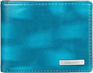 """Quiksilver Men's Freshness Wallets, Blue Coral, Dimensions: Medium 4.1"""" 3.3"""" [h] / 10.5[w] x 8.5[h] cm"""