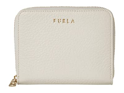 Furla Next Small Zip Around (Talco) Handbags