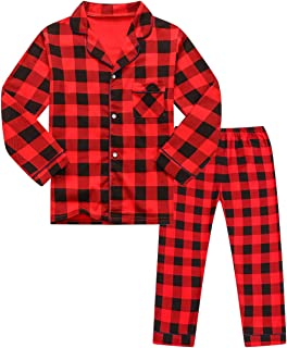 Betusline Kids Boys Girls Cartoon Pajamas Set, 18 شهرًا - 10 سنوات