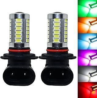 YaaGoo bright fog lights LED DRL bulbs,purple pink,9006 HB4