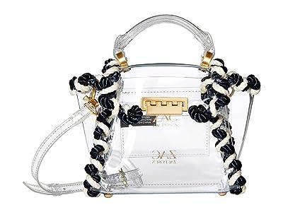 ZAC Zac Posen Eartha Mini Top-Handle Crossbody Color-Block (Multi/Clear) Handbags