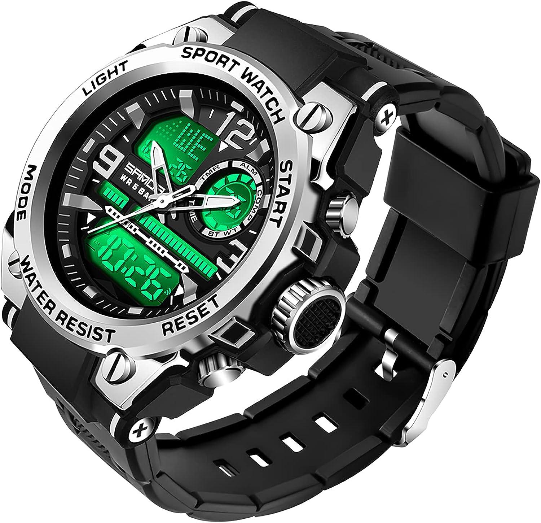 Koodea Free Shipping Cheap Bargain Gift Bargain sale 6024 Men's Watches Stopwat Waterproof Military Wristwatch