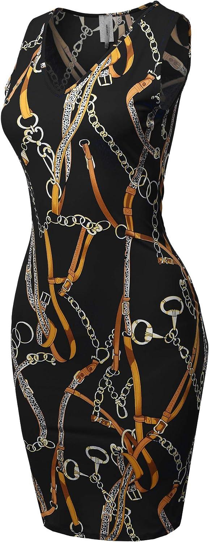 Women's Max 70% OFF Casual V-Neck Sleeveless Sexy Super intense SALE Body-Con Dress Made Mini -