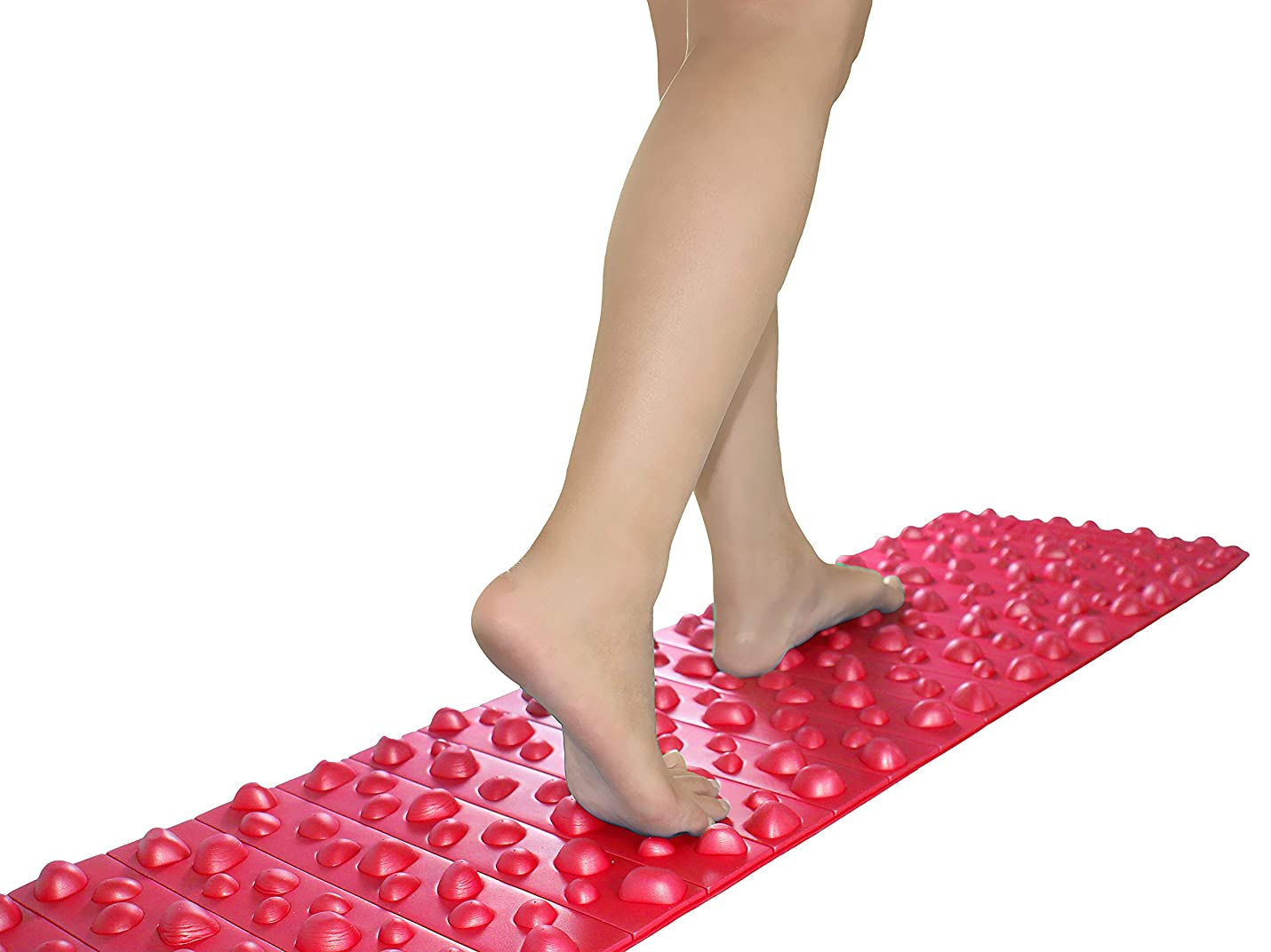エイズアナロジーブレンドバランスワン 足ツボマット(120cm) (赤)