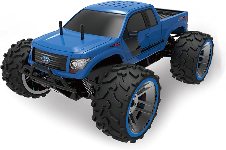 Amewi 22287 Ford F150 1 8 blueee, RTR, Lizenz Fahrzeug