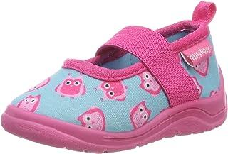 Playshoes Zapatillas Búhos, Pantuflas Niñas