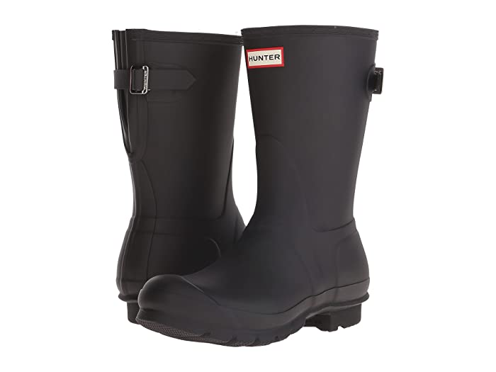 466fdd26 Hunter Original Short Back Adjustable Rain Boots | Zappos.com