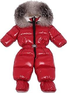 MONCLER 0051K Tuta Sci Unisex Boy Girl ARI Bordeaux Down Padded Snow Set