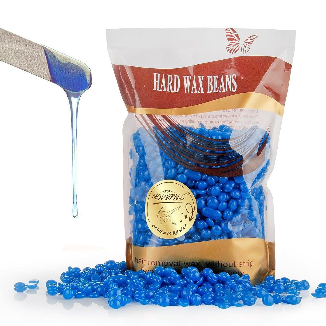 Wax Bean Hair Removal Brazilian Pearl Depilatory Waxing Beads for Men Women Chest Face Body Bikini Arm Leg Armpits Hair Removal 300G (10.6oz)(Chamomile)