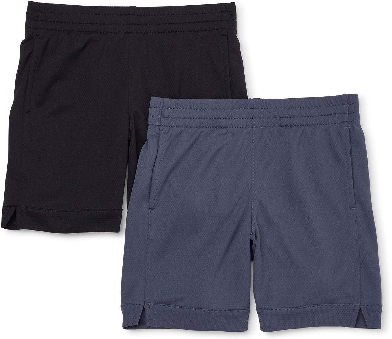 Amazon.com: Athletic Works Girls 2 Pack Active Mesh Shorts: Clothing