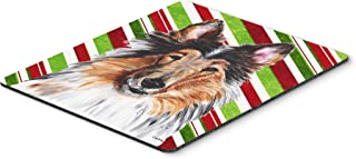 Caroline's Treasures Collie Candy Cane Christmas Mouse Pad/Hot Pad/Trivet (SC9790MP)