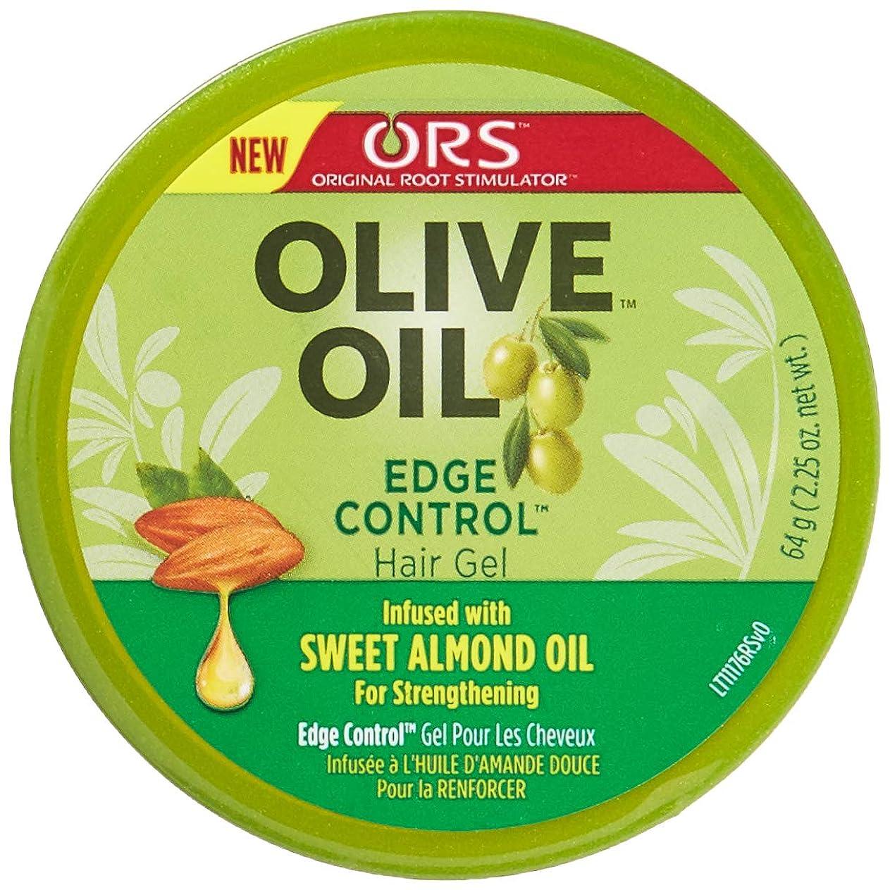 リズム起きろメッシュOrganic Root Olive Oil Edge Control 65 ml (並行輸入品)