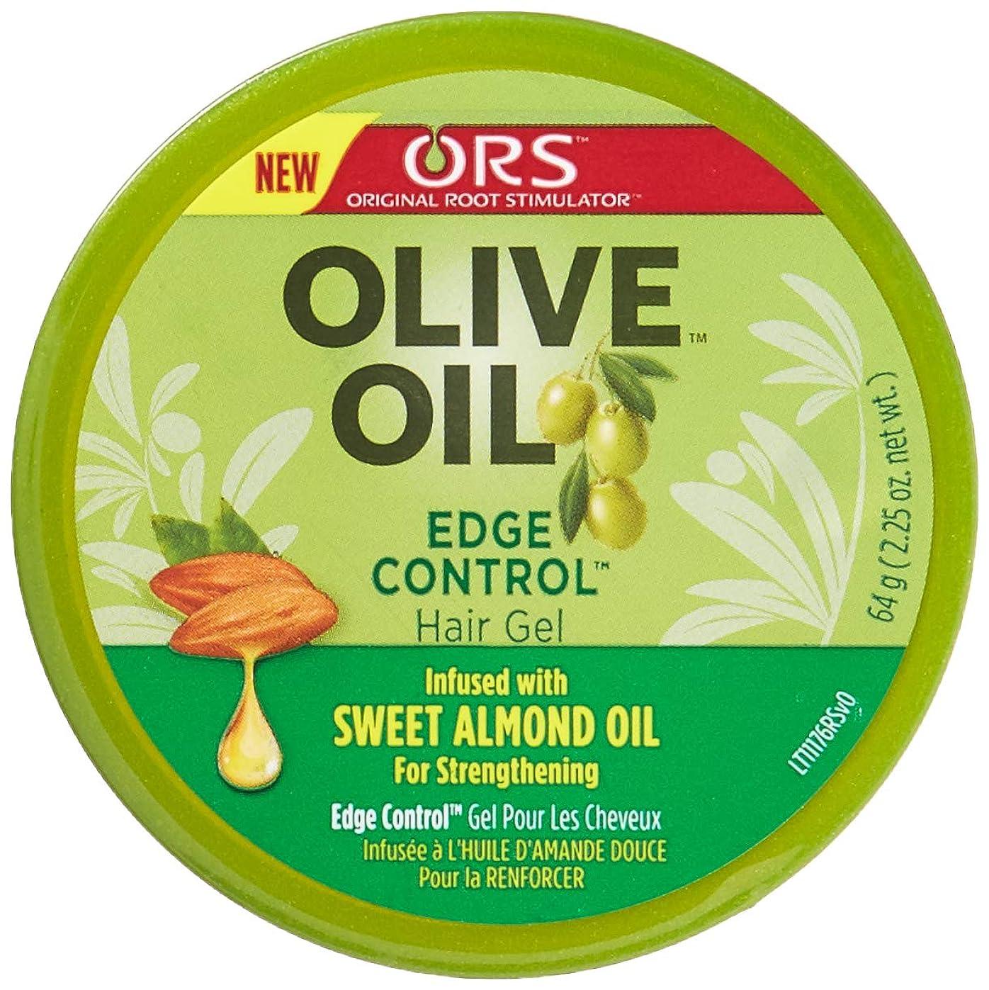 練習不安定な構築するOrganic Root Olive Oil Edge Control 65 ml (並行輸入品)