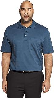 Van Heusen Men's Flex Stretch Stripe Polo Shirt
