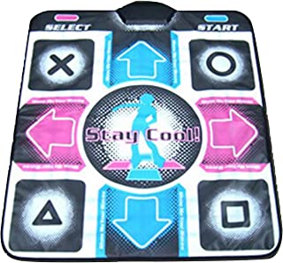 Homstar USB Dance Pad Anti-Slip Dancing Game Mat,Non-Slip Da