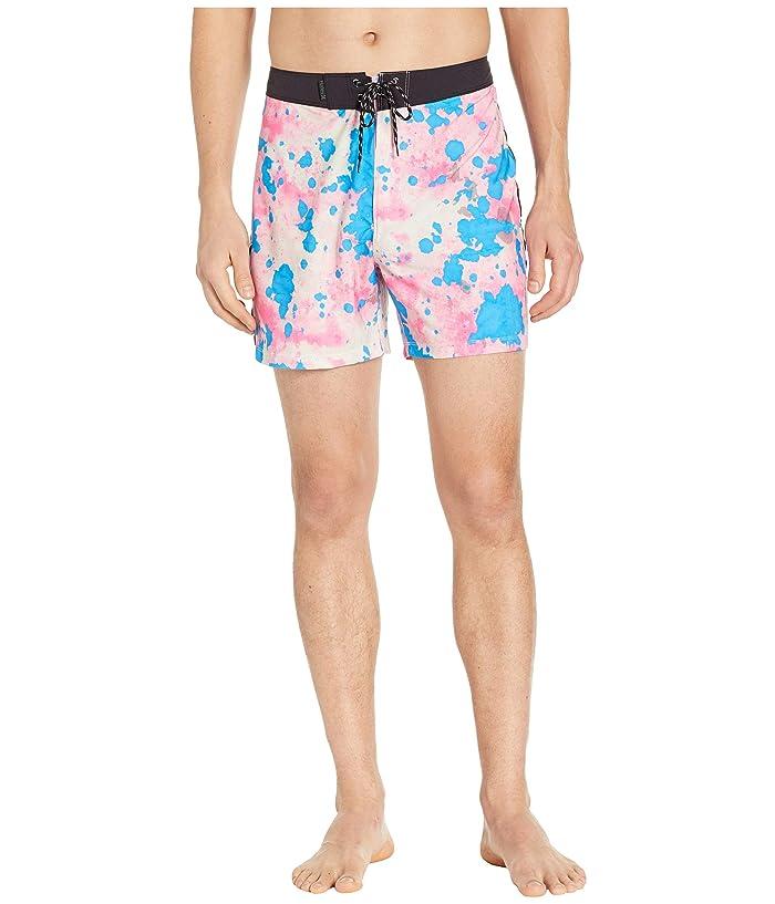 Hurley Phantom Bleach Daze 16 Boardshorts (Hyper Pink) Men