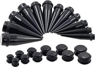 Oyaface 24PC Big Gauges Kit Ear Stretching 00G-20mm Acrylic Taper Plug Tunnels Piercing