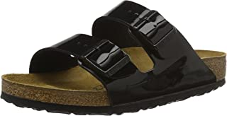 Birkenstock Unisex Arizona, Dark Brown Shoes