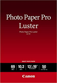 "Canon Luster Photo Paper, 13"" x 19"" (50 Sheets) (LU-101 13X1950)"