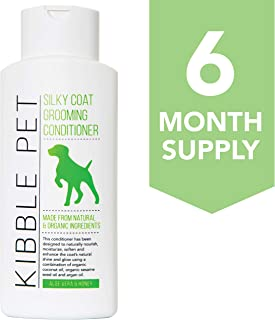 Kibble Pet Salon Quality Dog Conditioner Hypoallergenic   Made with Natural and Organic Ingredients   6 Mon...