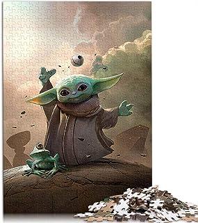 Visionpz Puzzles pour Adultes Puzzle 1000 pièces Star Wars Yoda Puzzle Classique Le Film Puzzle Jeux éducatifs pour Adulte...