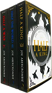 Shattered Sea Series 3 Books Collection Set by Joe Abercrombie (Half A King, Half The World & Half A War)