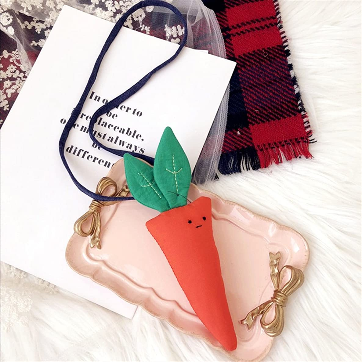 Royarebar Fashion Ladies Necklaces, Little Girl Carrot Pendant Necklace Jewellery Collections Charm Necklace ybew7853462460