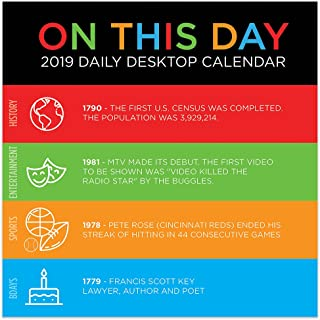 2019 On This Day Daily Desk Calendar