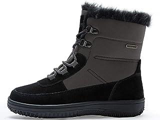 comprar comparacion riemot Botas de Nieve Senderismo para Mujer, Zapatos de Invierno Impermeables Calzado Zapatos de Ocio al Aire Libre y Trek...