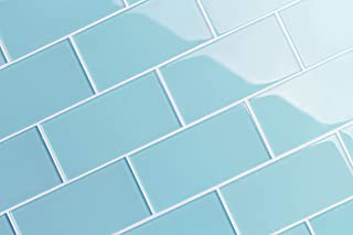 Glass Subway Backsplash Tile Kolors Series for Kitchen and Bathroom by WS Tiles - WST-14C (3