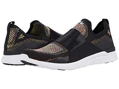 Athletic Propulsion Labs (APL) Techloom Bliss (Black/Multi/White) Men