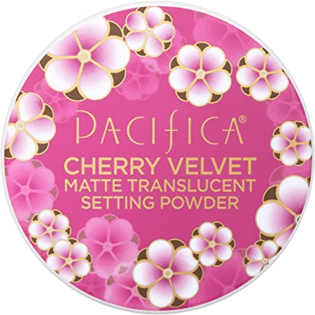 Pacifica Cherry Velvet Matte Setting Translucent Powder Women 0.45 oz