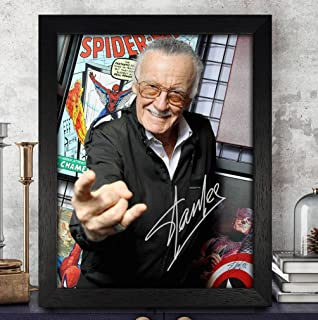 Stan Lee Avengers: Infinity War Cast Autographed Signed 8x10 Photo Reprint #46 Special Unique Gifts Ideas Him Her Best Friends Birthday Christmas Xmas Valentines Anniversary Fathers Mothers Day