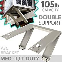 ALPINE HARDWARE Universal Window AC Support - Air Conditioner Bracket - Support Air Conditioner Up to 105 lbs. - for 5000 BTU AC to 12000 BTU AC Units