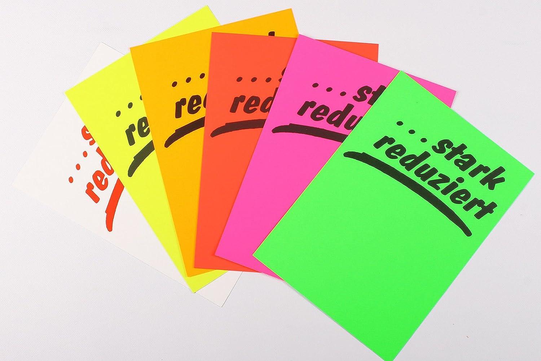 Plakatkarton [...stark [...stark [...stark rotuziert] 270g m² DIN A4 (50 Plakate) fluor Orange B01NH5MXOM  | Guter Markt  765d29