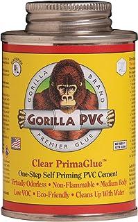 Gorilla Clear PVC PrimaGlue 4oz.