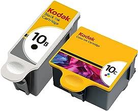 Kodak 10 Black and 10 Color Ink Cartridge 2 Pack in Bulk Packaging for Kodak ESP 3250 5250 7250 9250 Hero 7.1 9.1