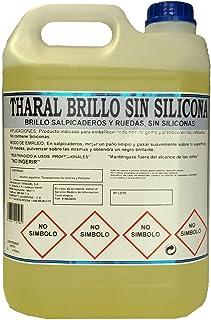 THARAL Brillo Salpicaderos y Neumáticos SIN SILICONAS (