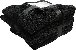Gaveno Cavailia 10PK Toronto Towel Bale Set with 4 Face, 4 Hand and 2 Bath, Cotton, Black