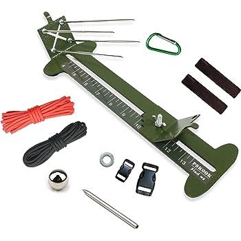 DIY Fallschirmschnur Jig Armband Maker Paracord Flechten Weben Armband Werkzeuge