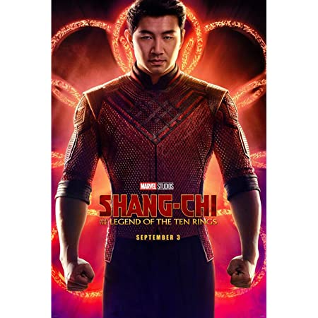 Tomorrow sunny Shang-Chi and the Legend of the Ten Rings 2021 Movie Poster Art Print Size-24''X36''/13.7''X20.4'' (13.7''X20.4'')
