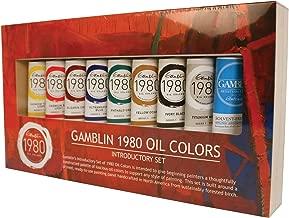 Best gamblin 1980 oil paint set Reviews