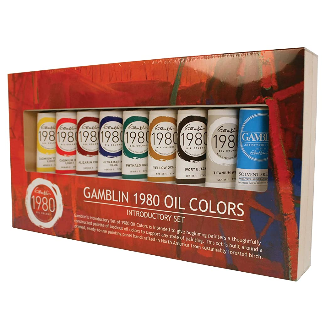 Gamblin 1980 Oil Color Exclusive Set nnushvcdaz
