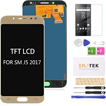 G570Y G570F//DS LIYUNSHU LCD Display 2016 Color : Gold // G570 /& J5 Prime Black Touch Panel for Galaxy On5