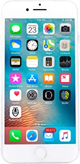 Apple iPhone 8, Fully Unlocked, 256GB - Silver (Renewed)