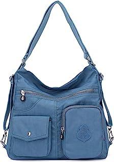 Outreo Mujer Bolsos de Moda Impermeable Mochilas Bolsas de Viaje Bolso Bandolera Sport Messenger Bag Bolsos Baratos Mano p...