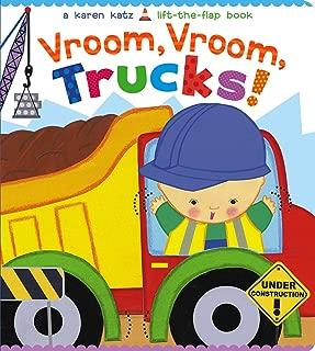 Vroom, Vroom, Trucks! (Karen Katz Lift-the-Flap Book)