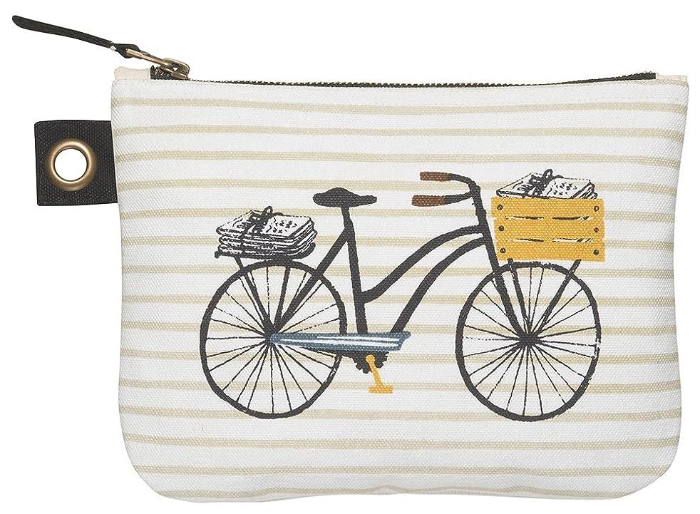 Danica Studio Zipper Pouch, Large, Bicicletta