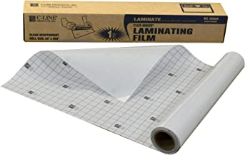 C-Line Heavyweight Cleer-Adheer Laminating Film Sheets, Clear, 24 x 600 Inches, Roll (65050)