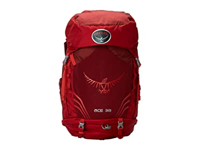Osprey Ace 38 (Paprika Red) Backpack Bags